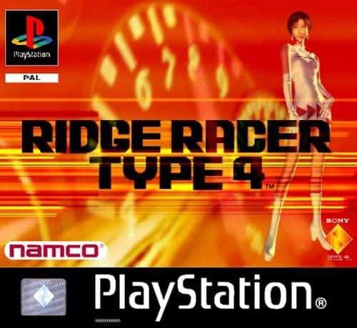 Best PS1 games - R4: Ridge Racer Type 4 game art