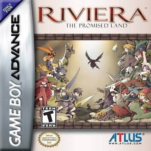 Best GBA Games - Riviera: The Promised Land game case