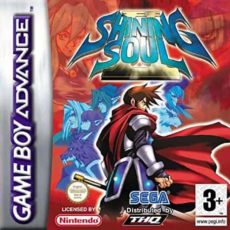 Best GBA Games - Shining Soul II Game Case