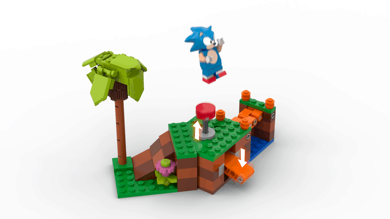 Sonic The Hedgehog Lego Set - Bounce pad