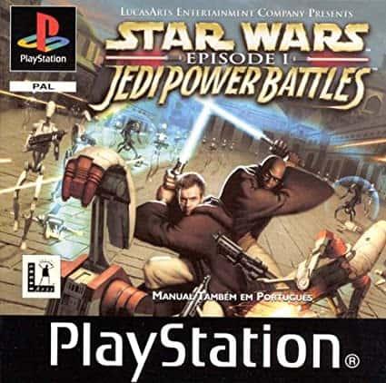 Best PS1 games - Star Wars: Jedi Power Battles game case