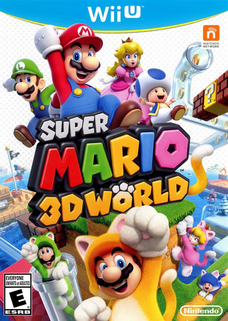 Best Mario Games - Super Mario 3d world