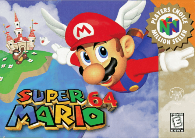 Best Mario Games - Super Mario 64