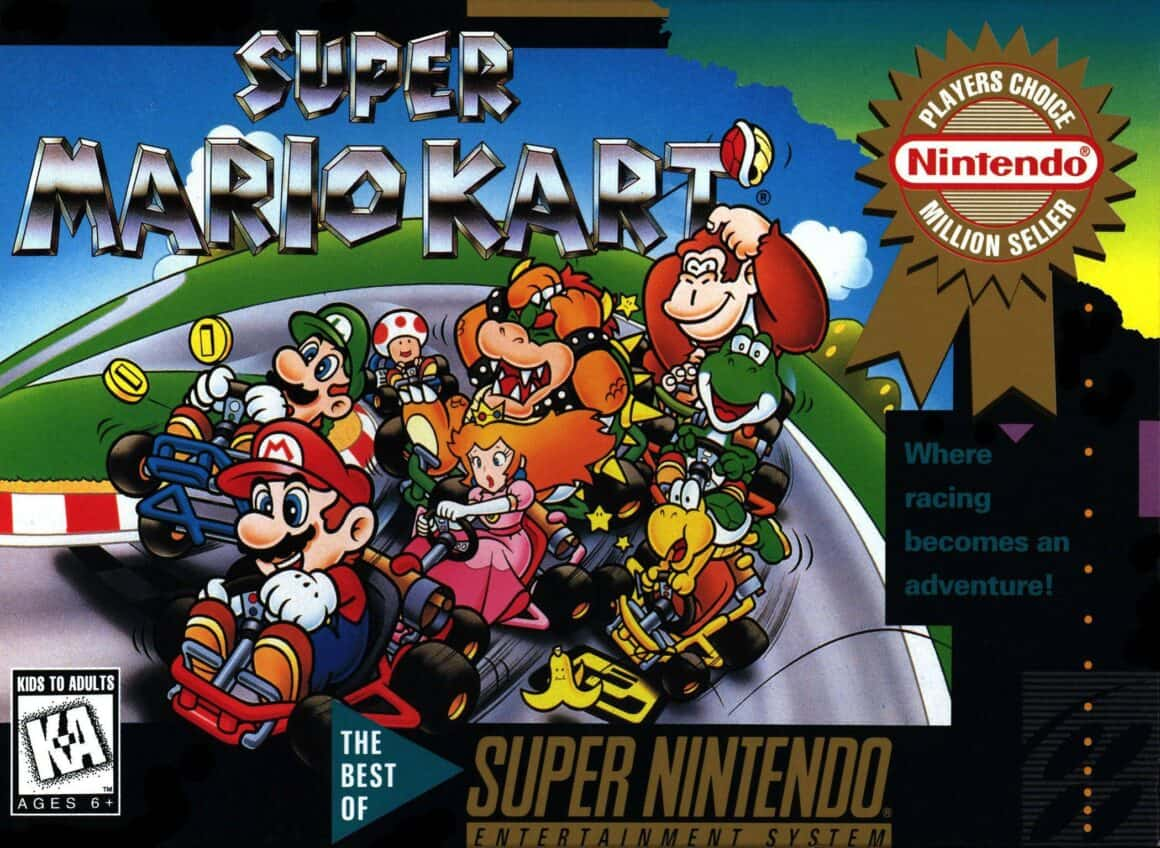Best Mario Games - Super Mario Kart