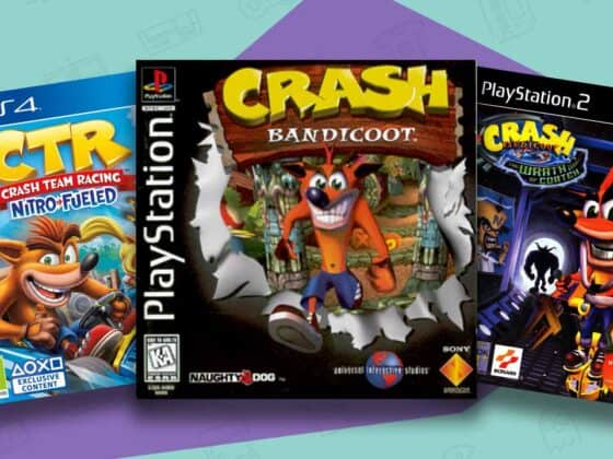 best crash bandicoot games