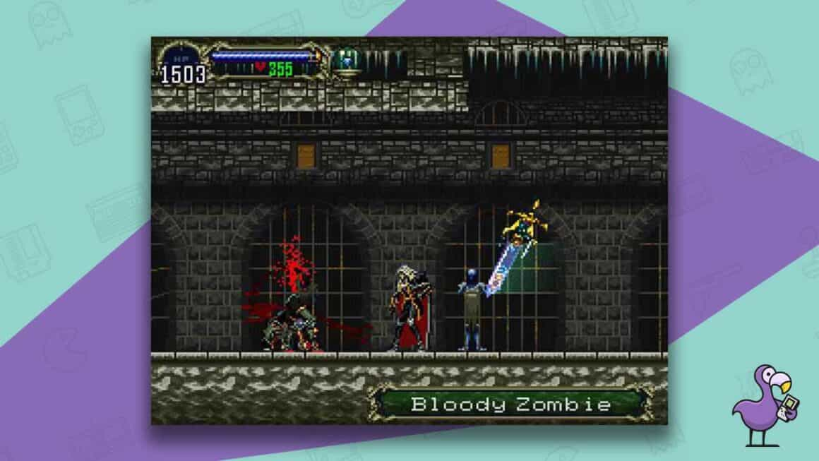 castlevania symphony of the night ps1 gameplay