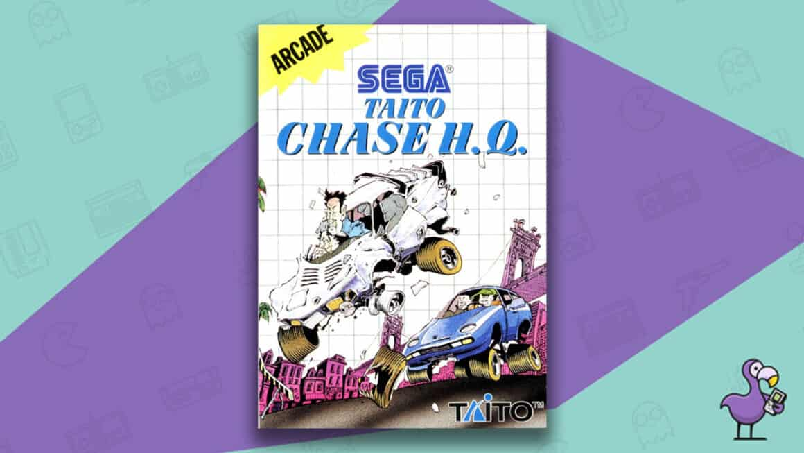 Best Master System Games - Chase HQ