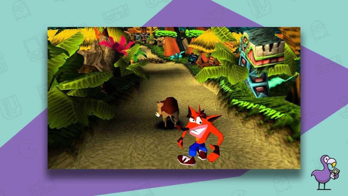 crash bandicoot 1996 gameplay