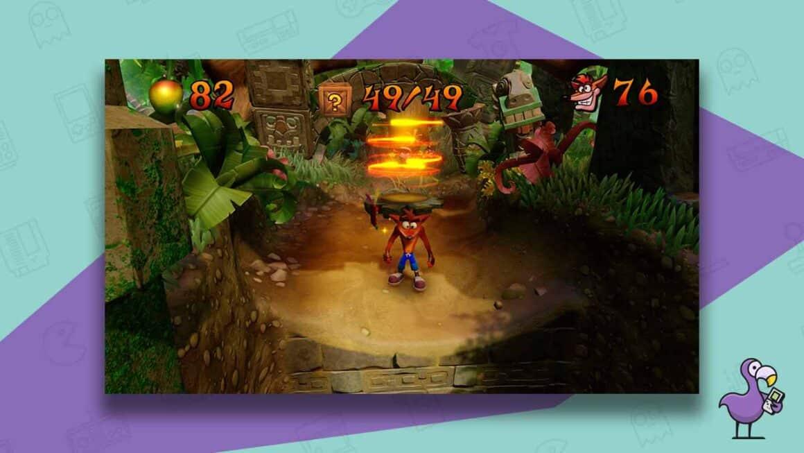 crash bandicoot n sane trilogy gameplay ps4