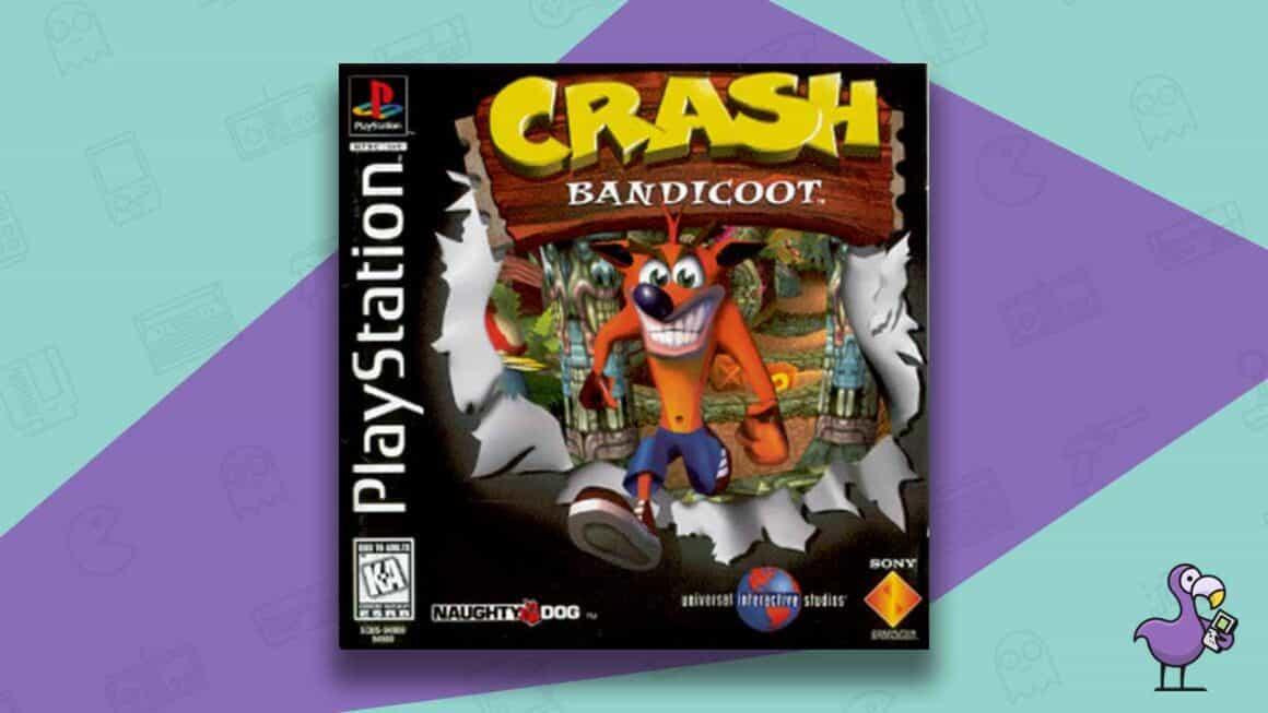 Best PS1 Games - Crash Bandicoot game case cover art