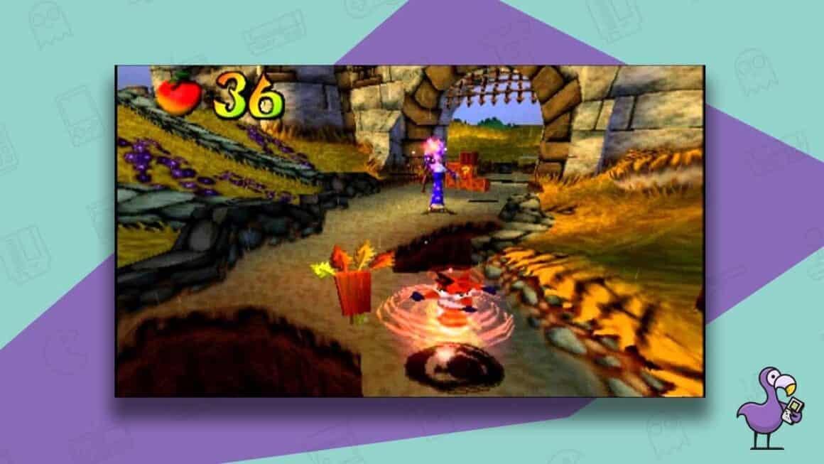 crash bandicoot warped gameplay