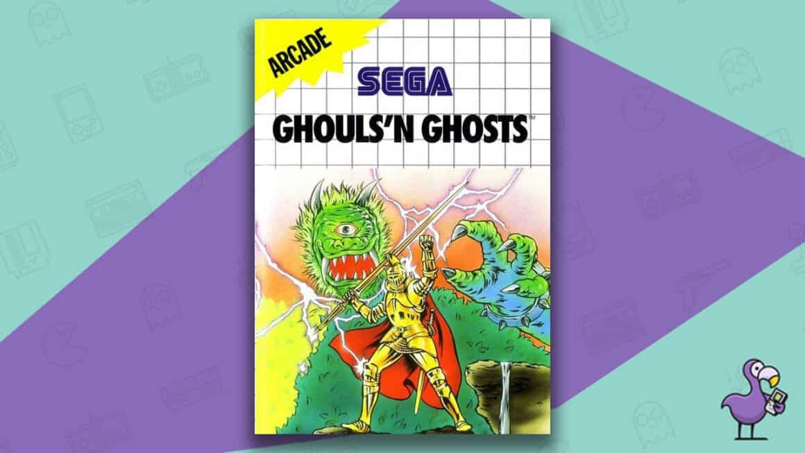 Best Master System Games - Ghouls 'n Ghosts game cover