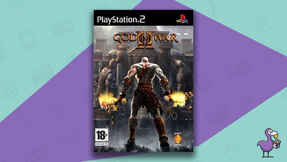 Best PS2 Games - God of War II game case cover art
