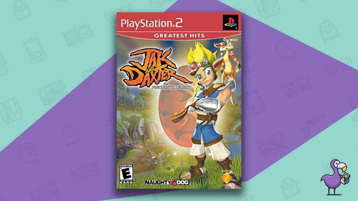 Best Jak and Daxter games - Jak and Daxter: The Precursor Legacy game case