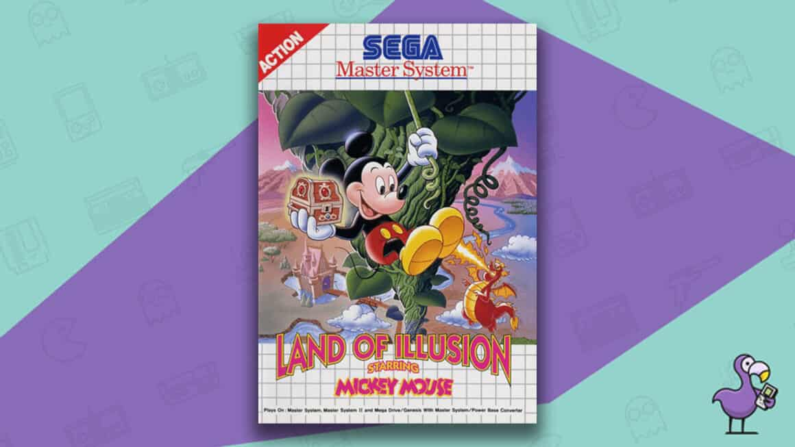 Best Master System Games - Land of Illusion starring Mickey Mouse game case