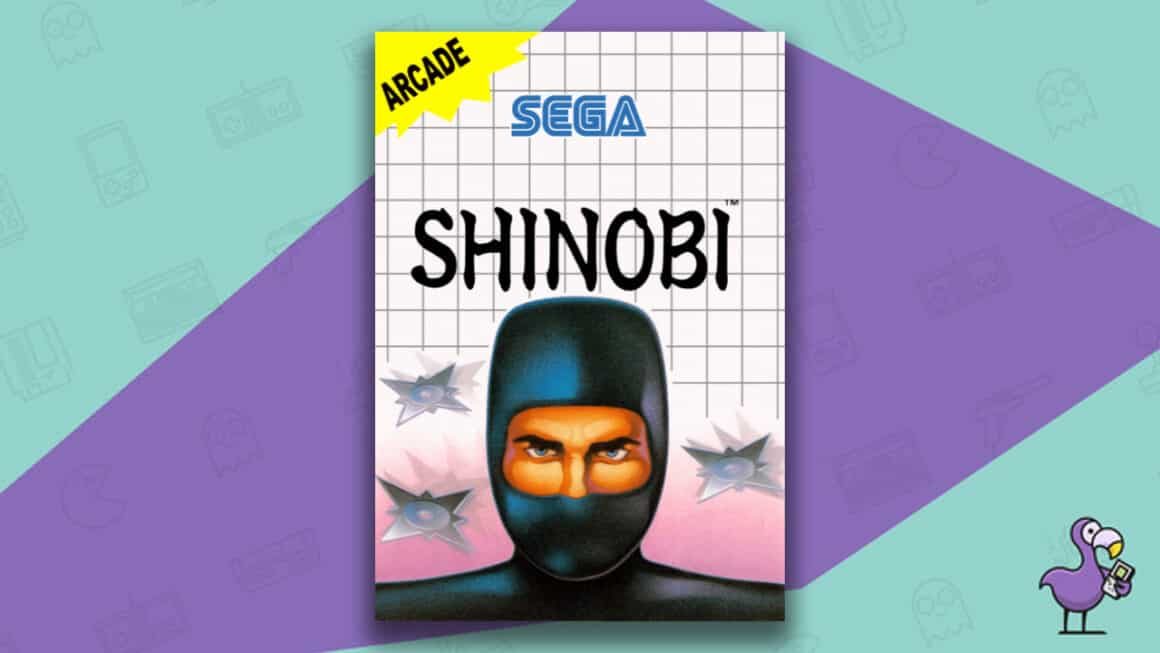 Best Master System Games - Shinobi game cover