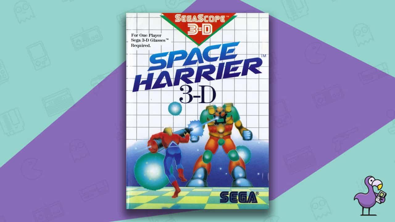 Best Master System Games - Space Harrier 3D game case