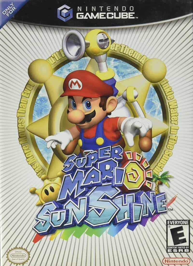 Best Mario Games - Super Mario Sunshine