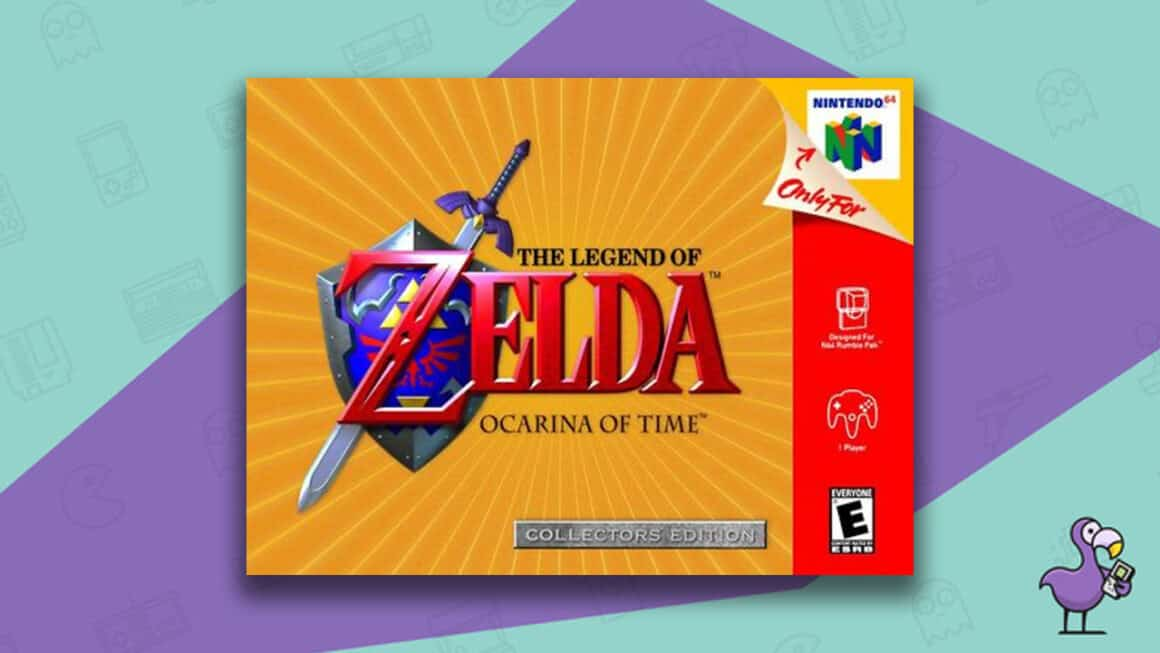 Rare N64 games - The Legend of Zelda: Ocarina of Time Collectors Edition game case