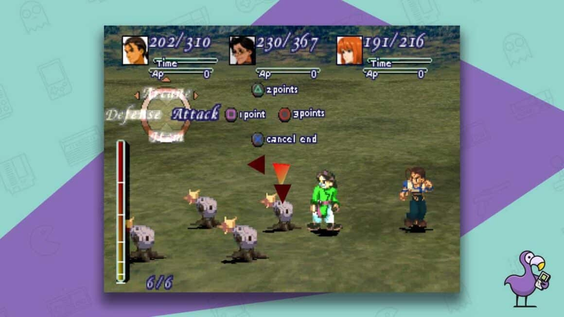 xenogears ps1 gameplay