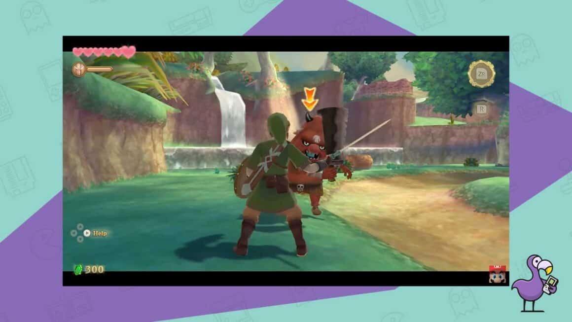 zelda skyward sword switch gameplay