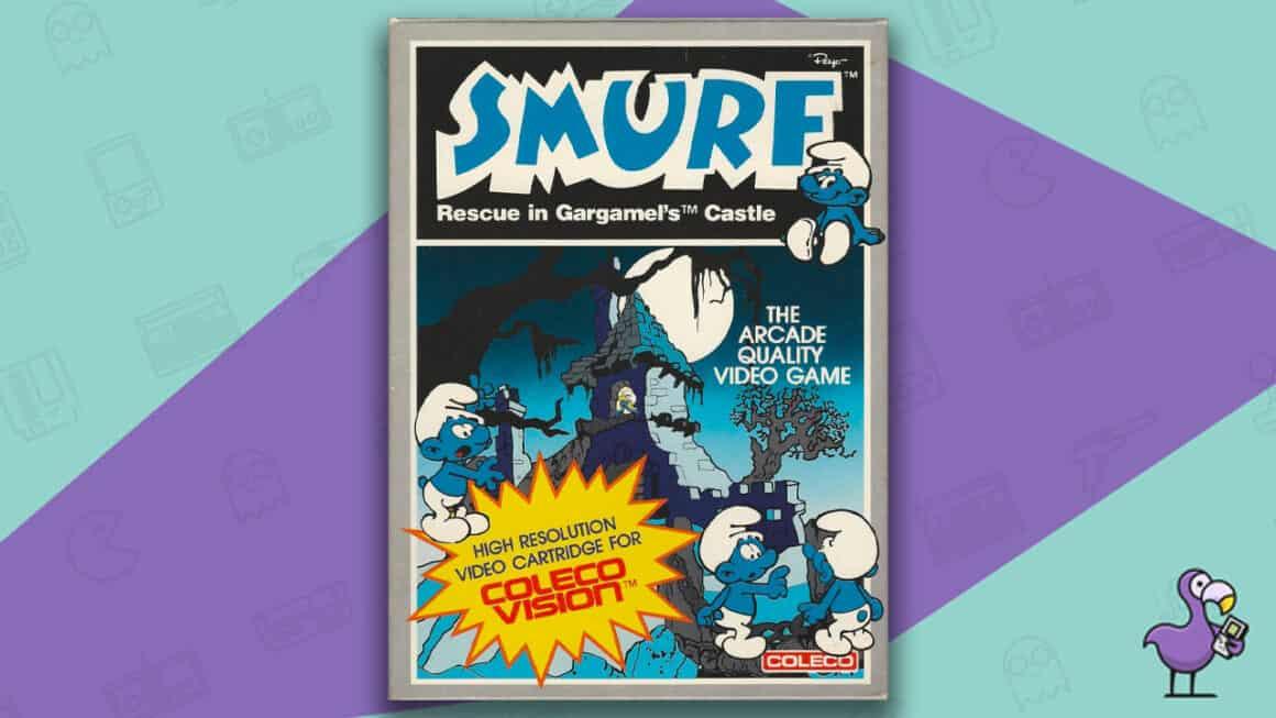 Best Colecovision Games - Smurf: Resuce in Gargamel's Castle