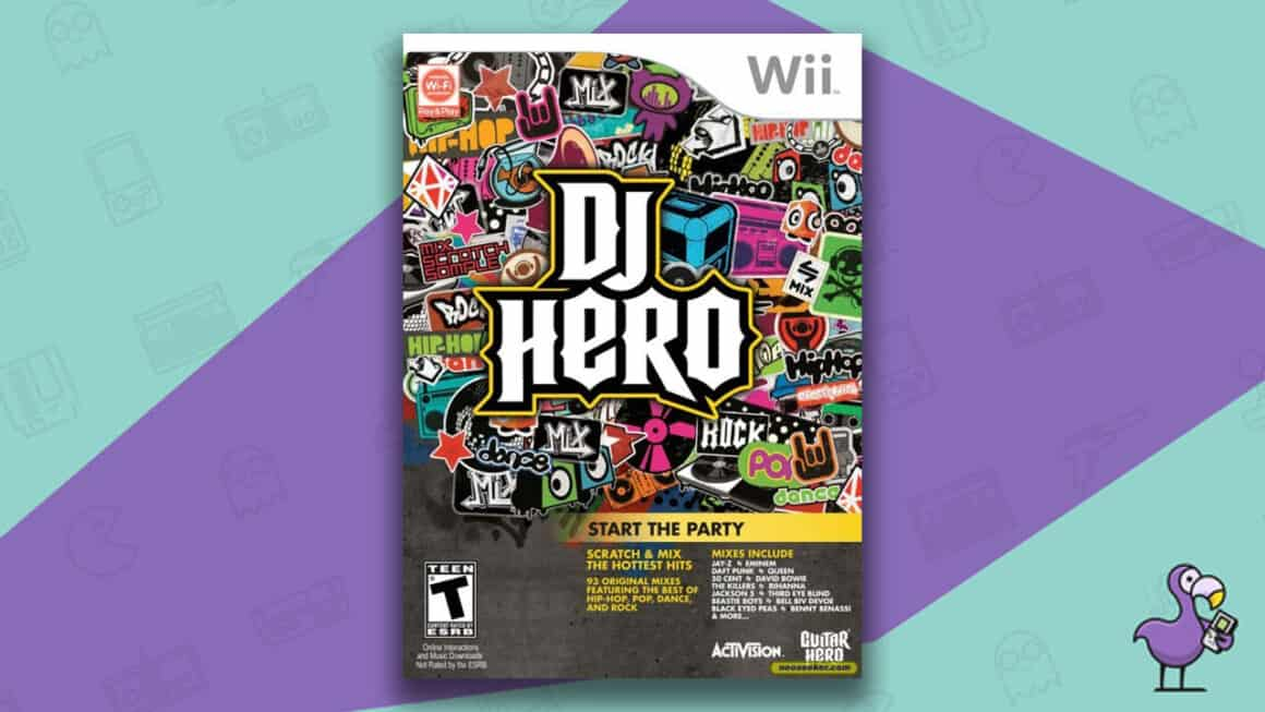 Best Nintendo Wii Games - DJ Hero game case