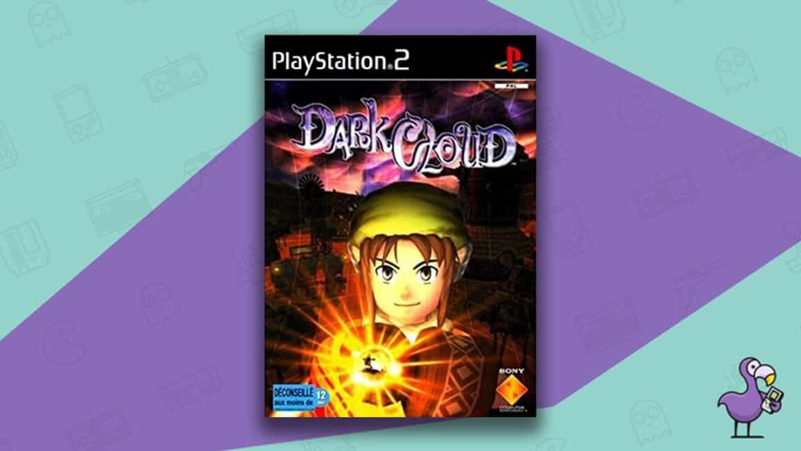 Best PS2 RPGs - Dark Cloud Game Case Cover Art