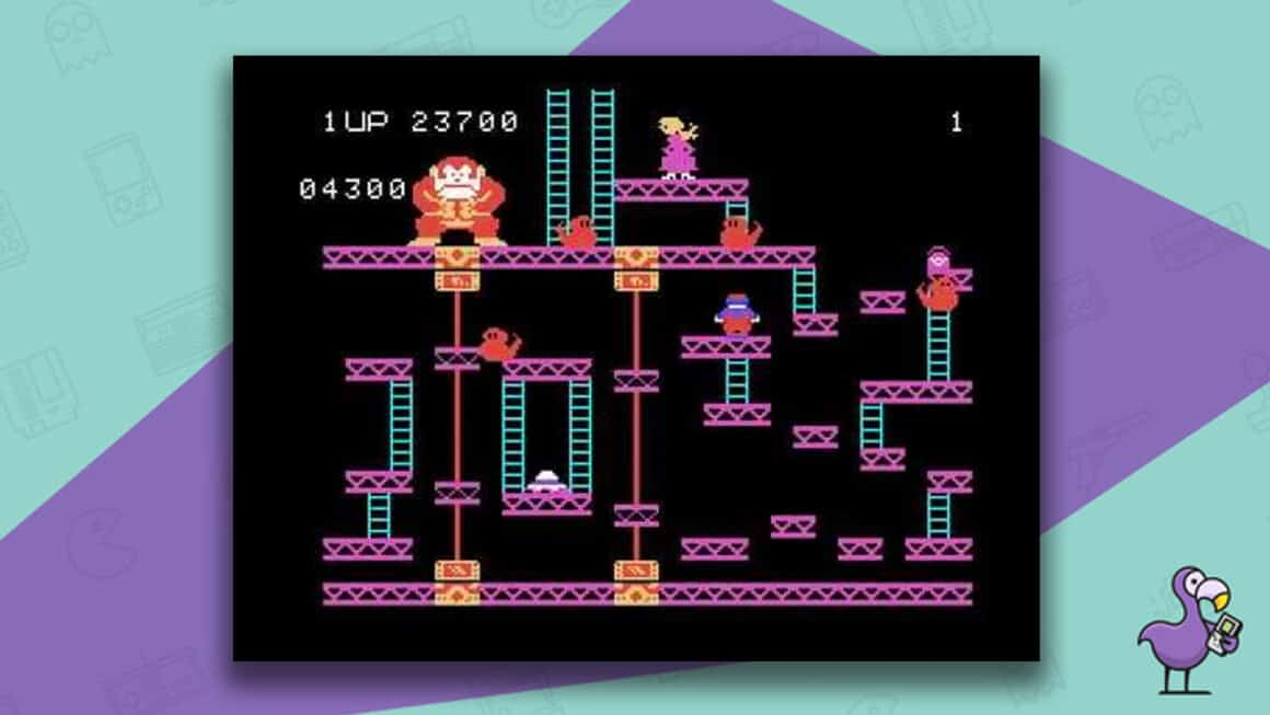 Best Arcade Games - Donkey Kong