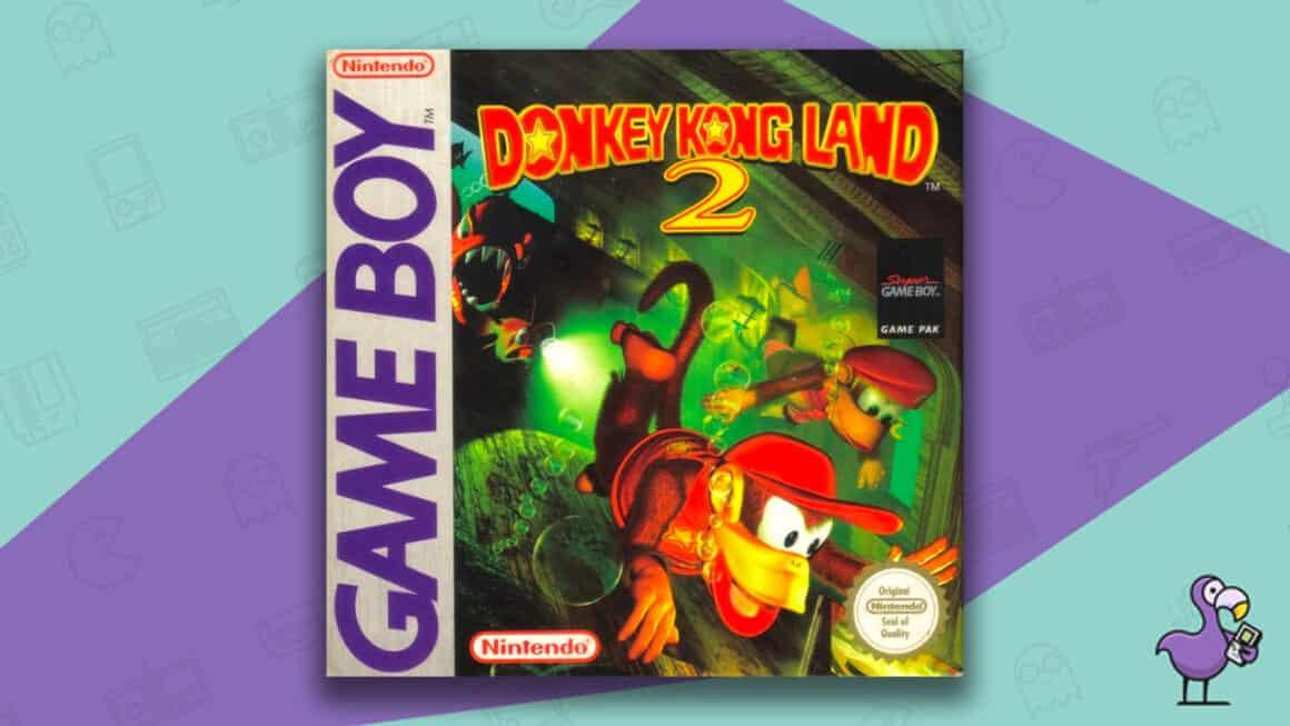 Best Gameboy Games - Donkey Kong Land 2 game box