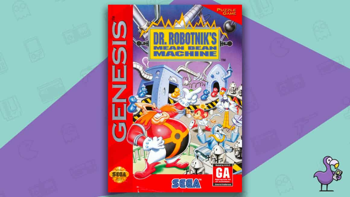 Best Sega Genesis Games - Dr Robotnik's Mean Bean Machine
