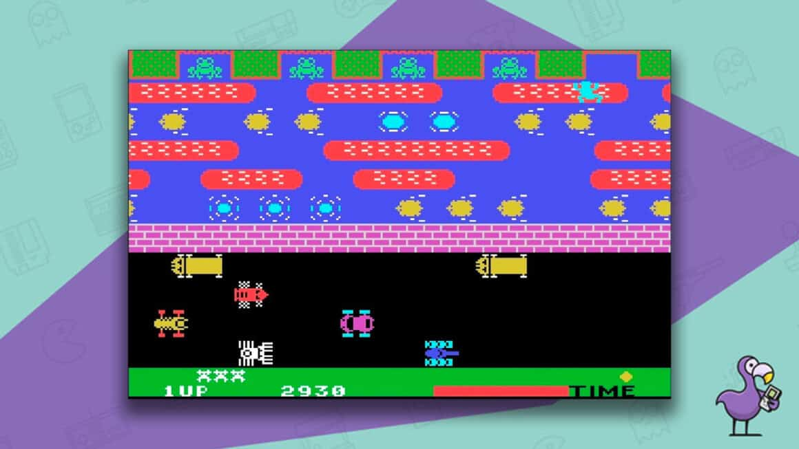 Best Arcade Games - Frogger