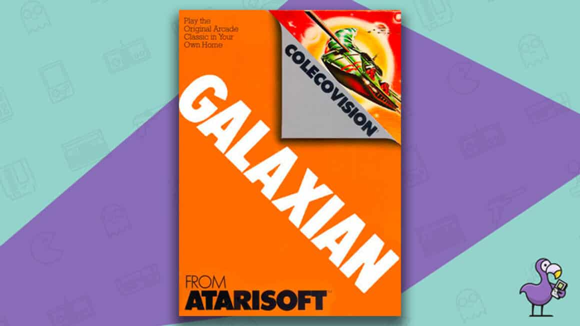 Best Colecovision Games - Galaxian game case cover art
