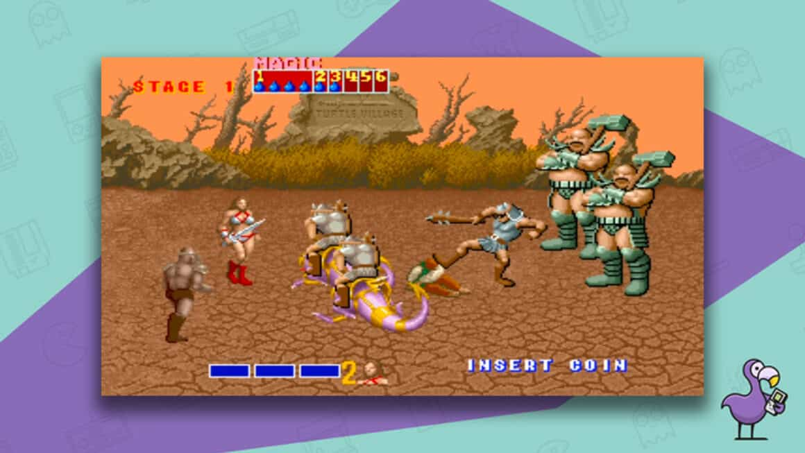 Best Arcade Games - Golden Axe