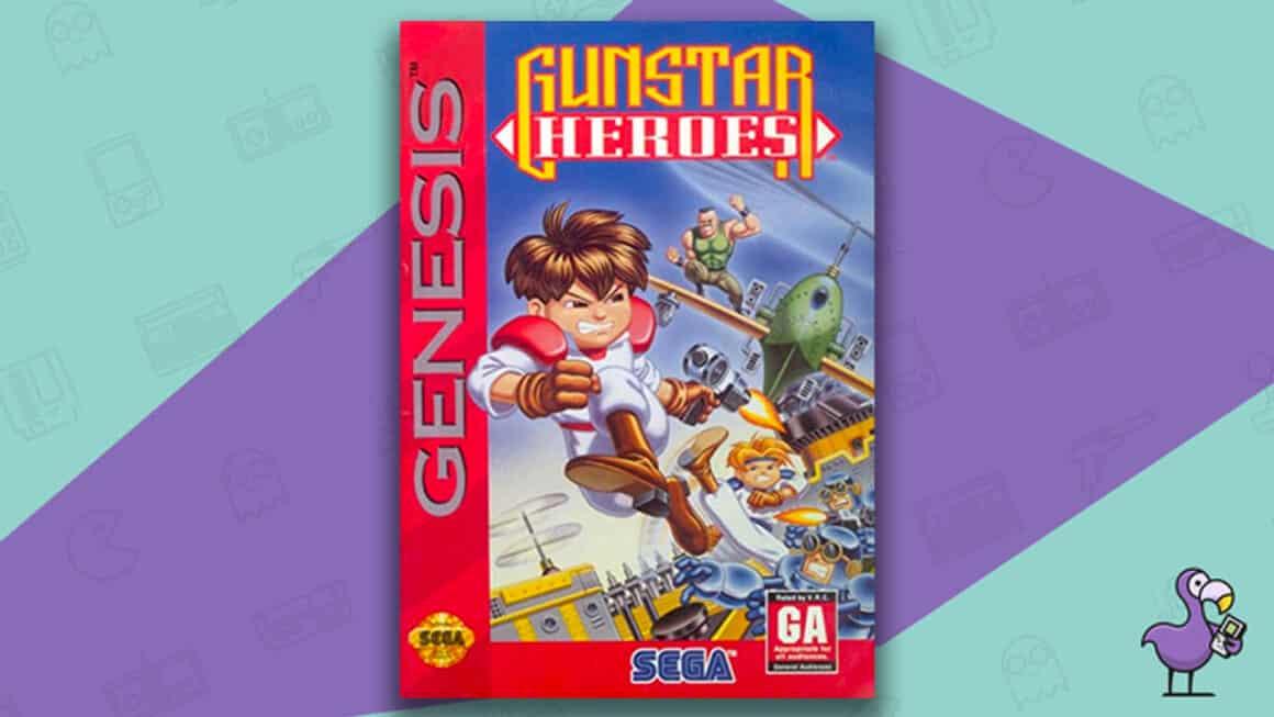 Best Sega Genesis Games - Gunstar Heroes