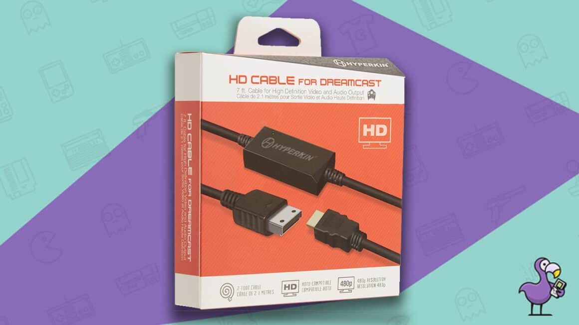 Best Dreamcast HDMI Cables - Hyperkin HD Cable For Dreamcast