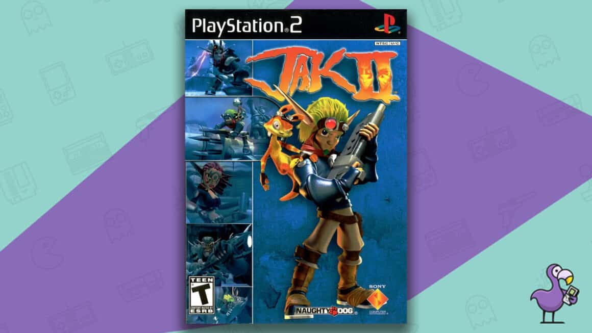 Best Jak and Daxter games - Jak 2 game case cover art
