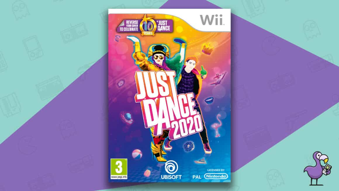 Best Nintendo Wii Games - Just Dance 2020 game case
