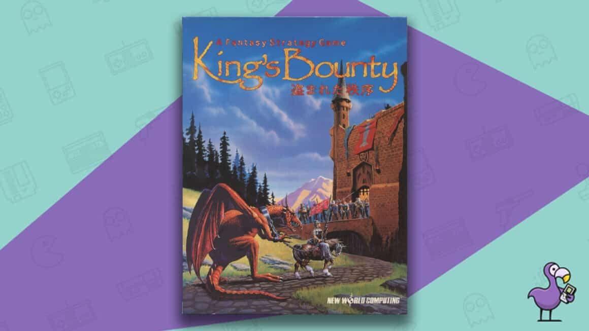 Best PC 98 games - King's Bounty game case
