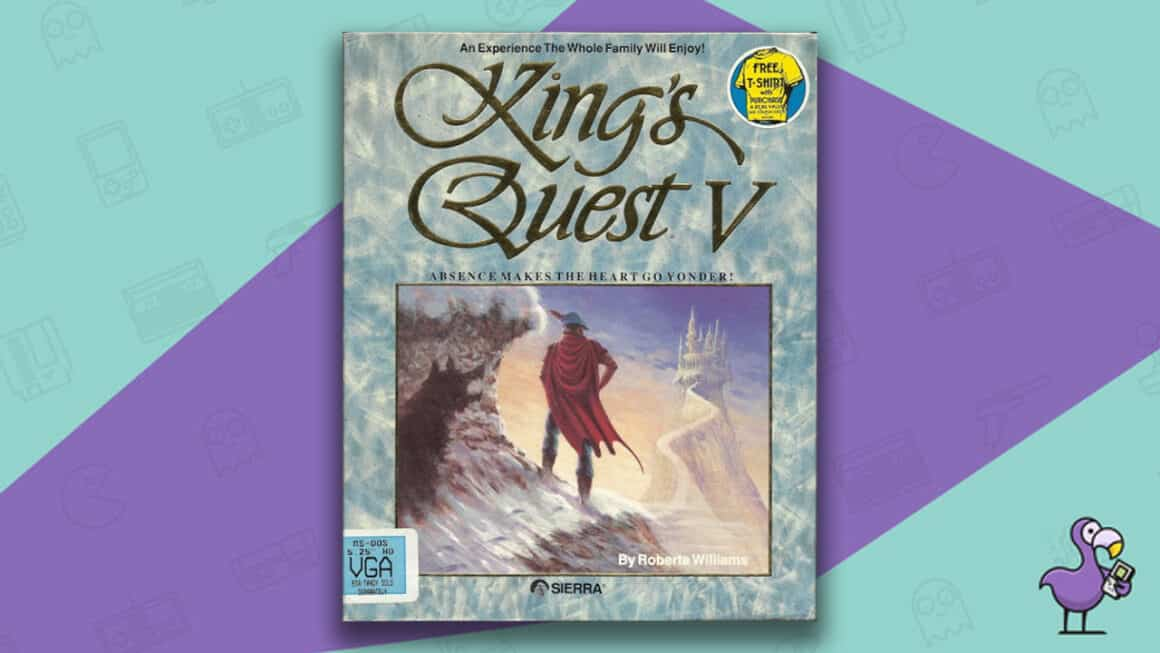 Best PC 98 games - Kings Quest V game case