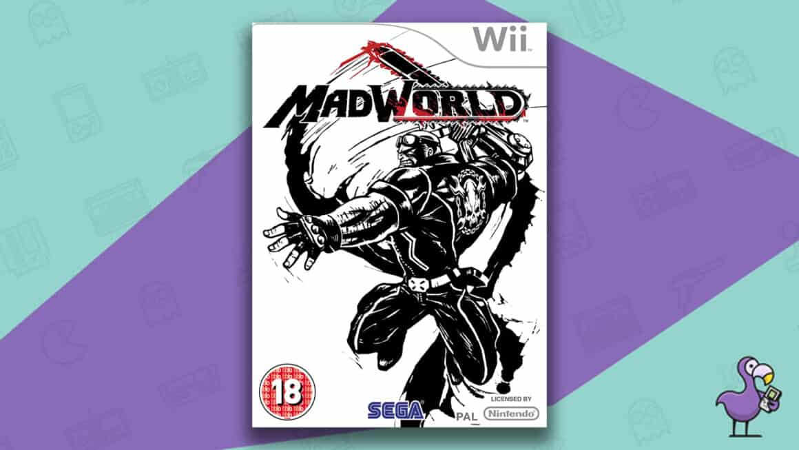 Best Nintendo Wii Games - MadWorld Game Case