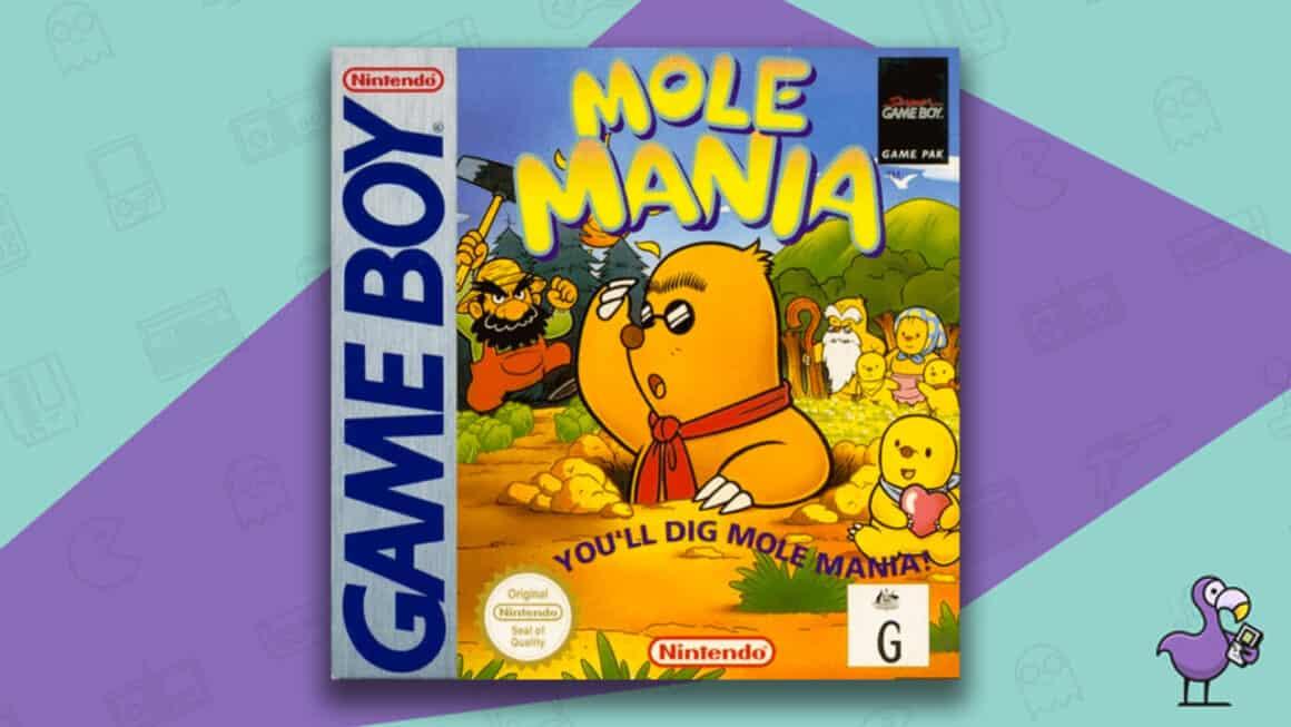 Best Gameboy Games - Mole Mania Game Box
