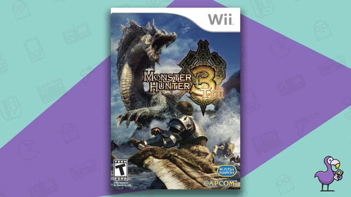 Best Nintendo Wii Games - Monster Hunter Tri game case
