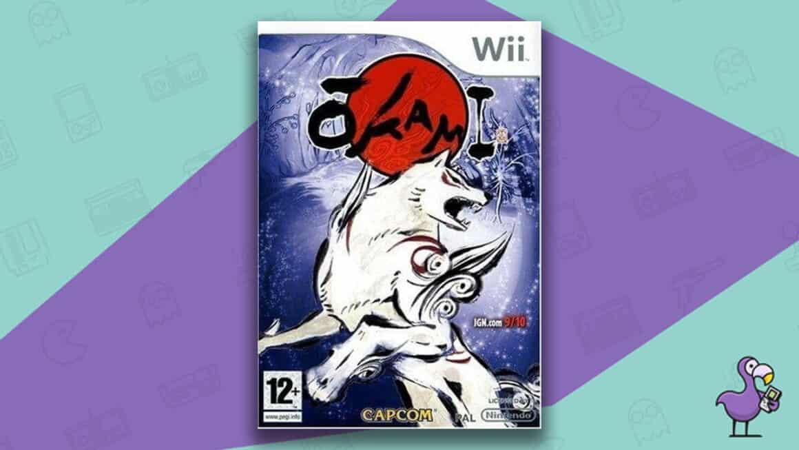 Best Nintendo Wii Games - Ōkami Game Case