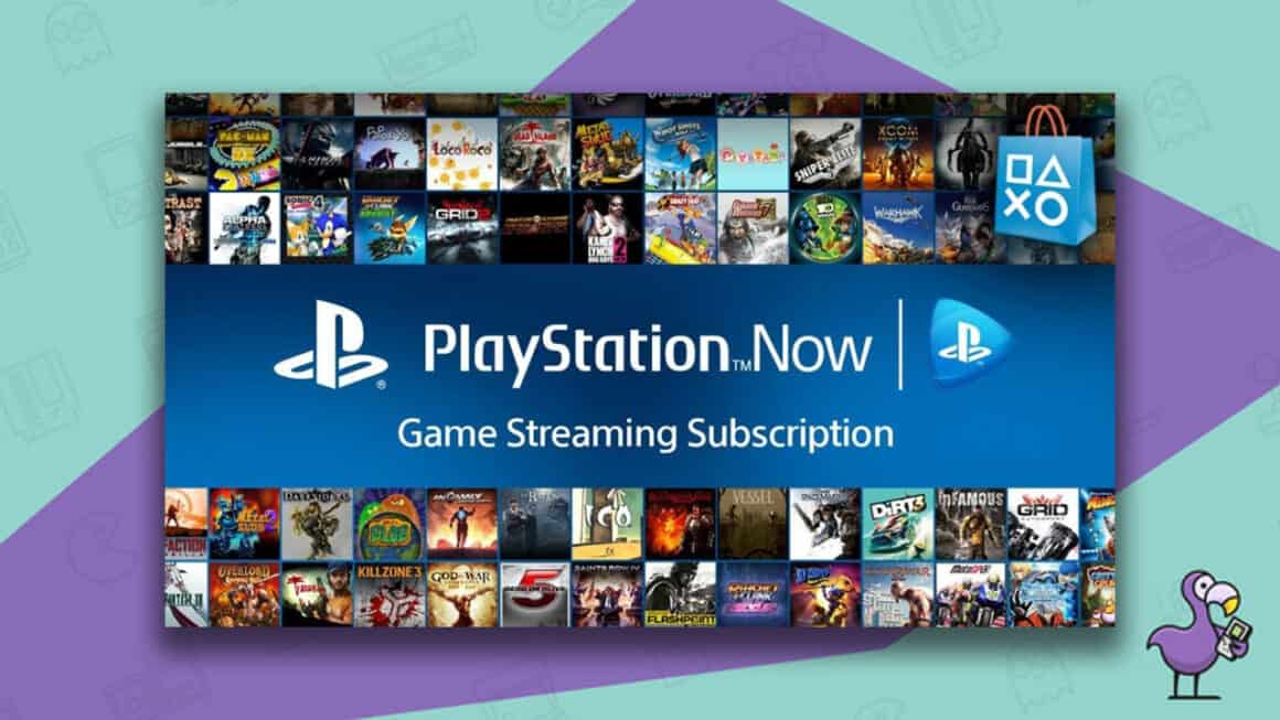 is the PS4 backwards compatible - PS Now gaming service screen