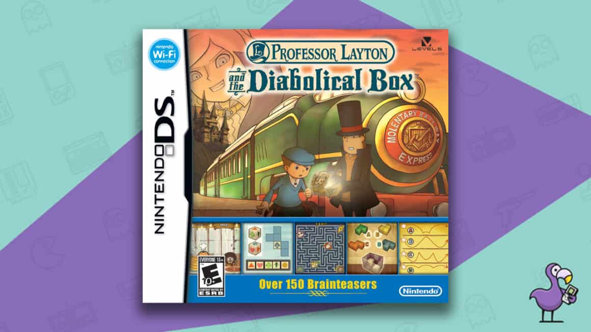 Best Nintendo DS Games - Professor Layton and the Diabolical Box