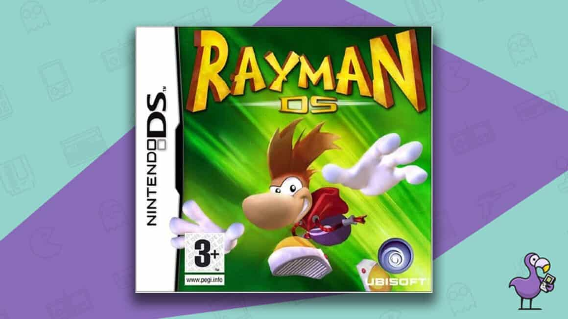 Best Nintendo DS Games - Rayman DS game case