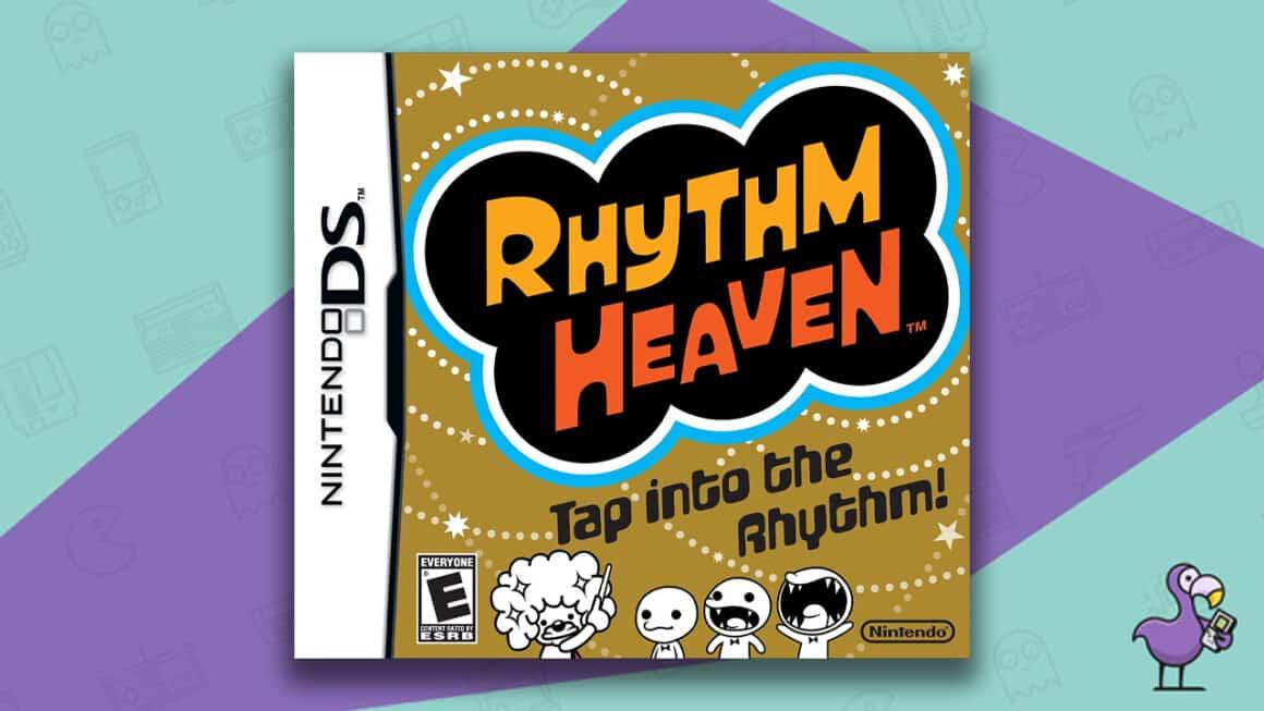 Best Nintendo DS Games - Rhythm Heaven game case