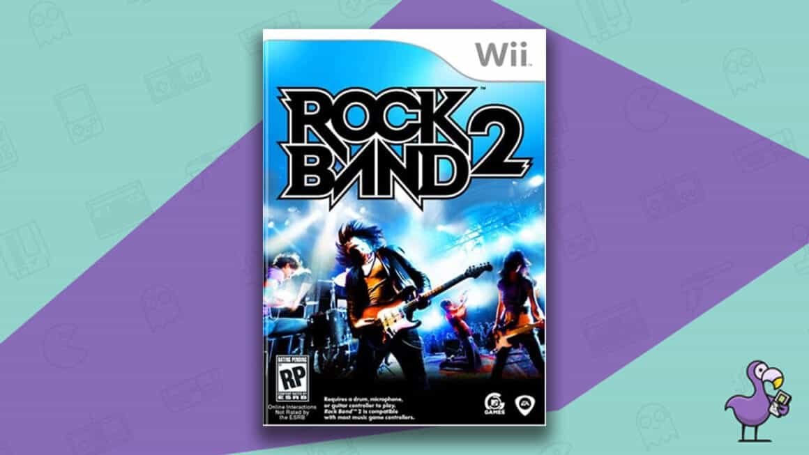 Best Nintendo Wii Games - Rock Band 2 game case
