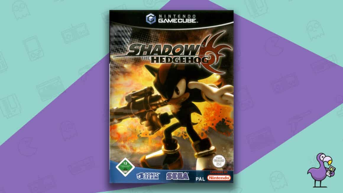 Best Sonic Games - Shadow the Hedgehog GameCube game case